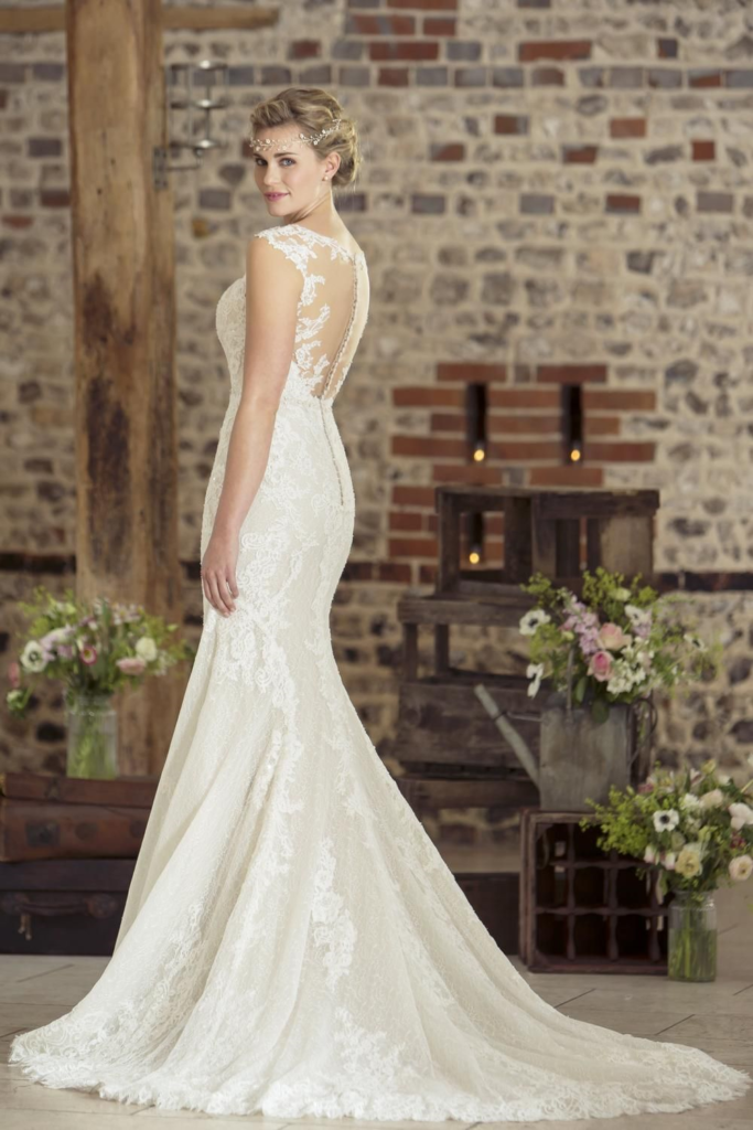 Beautiful wedding dress available from Fairytale Bride Colchester
