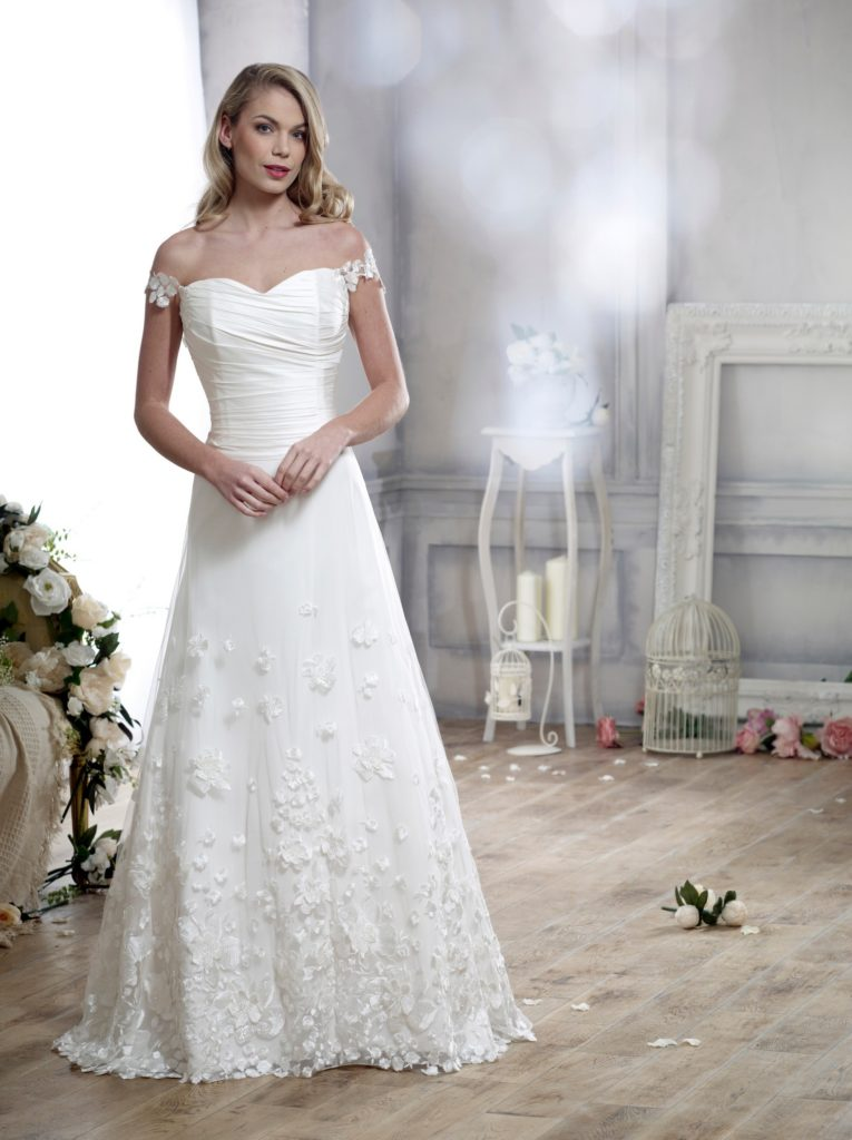 Wedding Dresses Colchester. Adorable by Nicola Anne. Available from Fairytale Bride 17 Market Hill Coggeshall Colchester Essex CO61TS 01376 743121