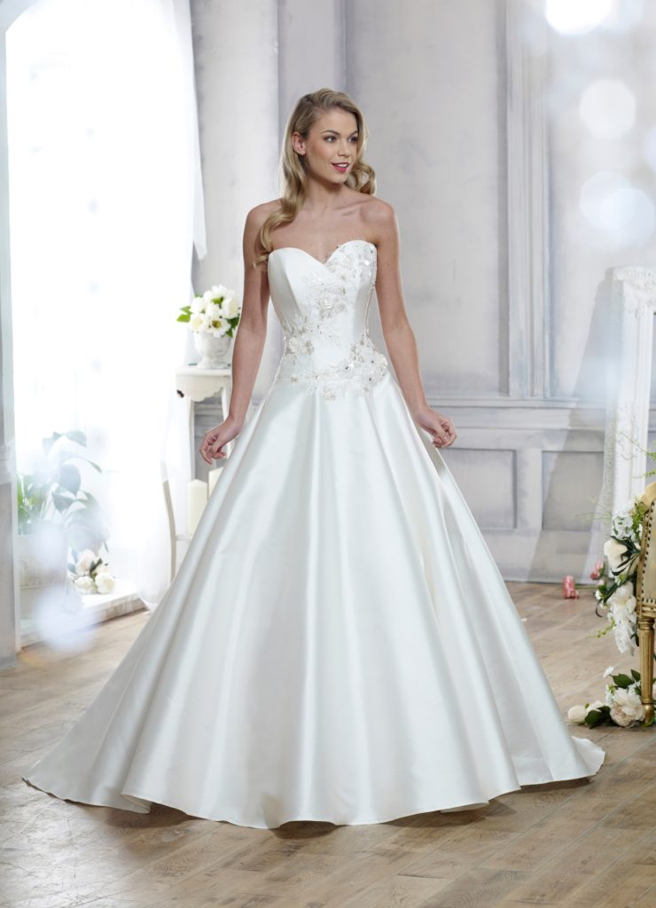 Wedding Dresses Colchester. Allure by Nicola Anne. Available from Fairytale Bride 17 Market Hill Coggeshall Colchester Essex CO61TS 01376 743121