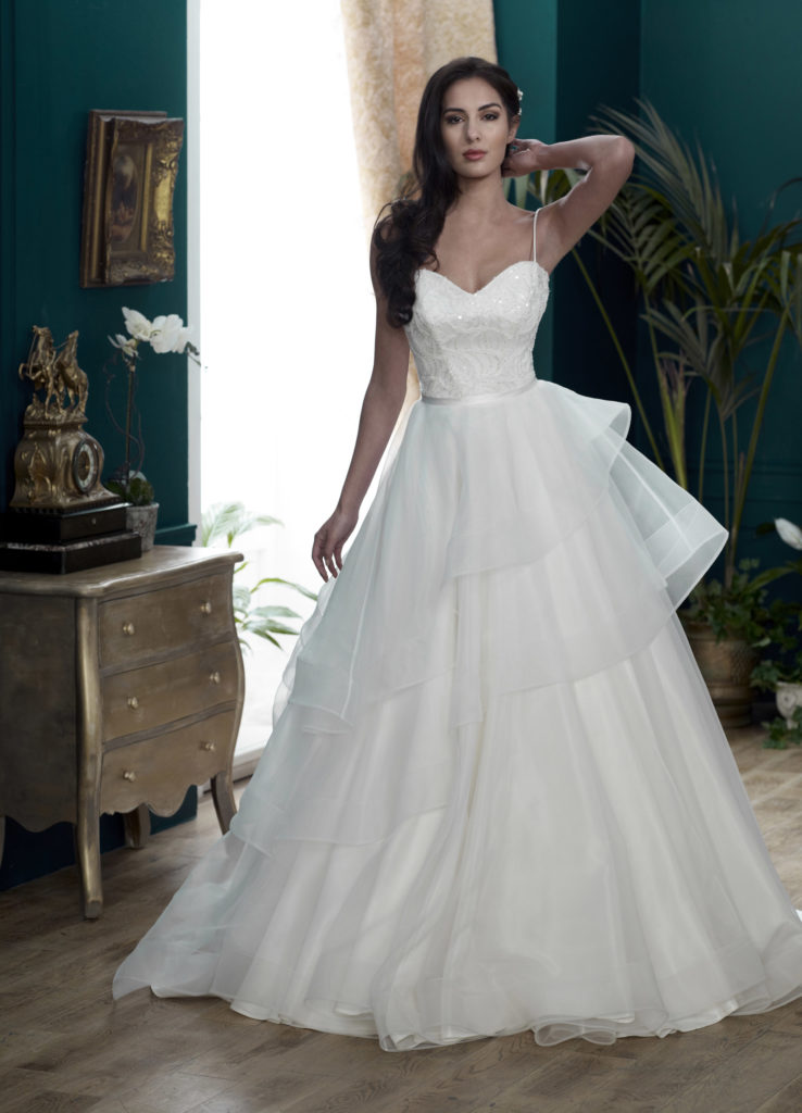 Wedding Dresses Colchester. Balmoral by Nicola Anne. Available from Fairytale Bride 17 Market Hill Coggeshall Colchester Essex CO61TS 01376 743121