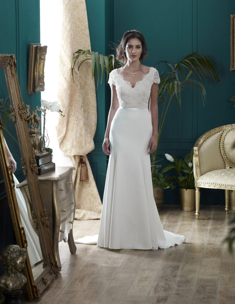 Wedding Dresses Colchester. Blenheim by Nicola Anne. Available from Fairytale Bride 17 Market Hill Coggeshall Colchester Essex CO61TS 01376 743121