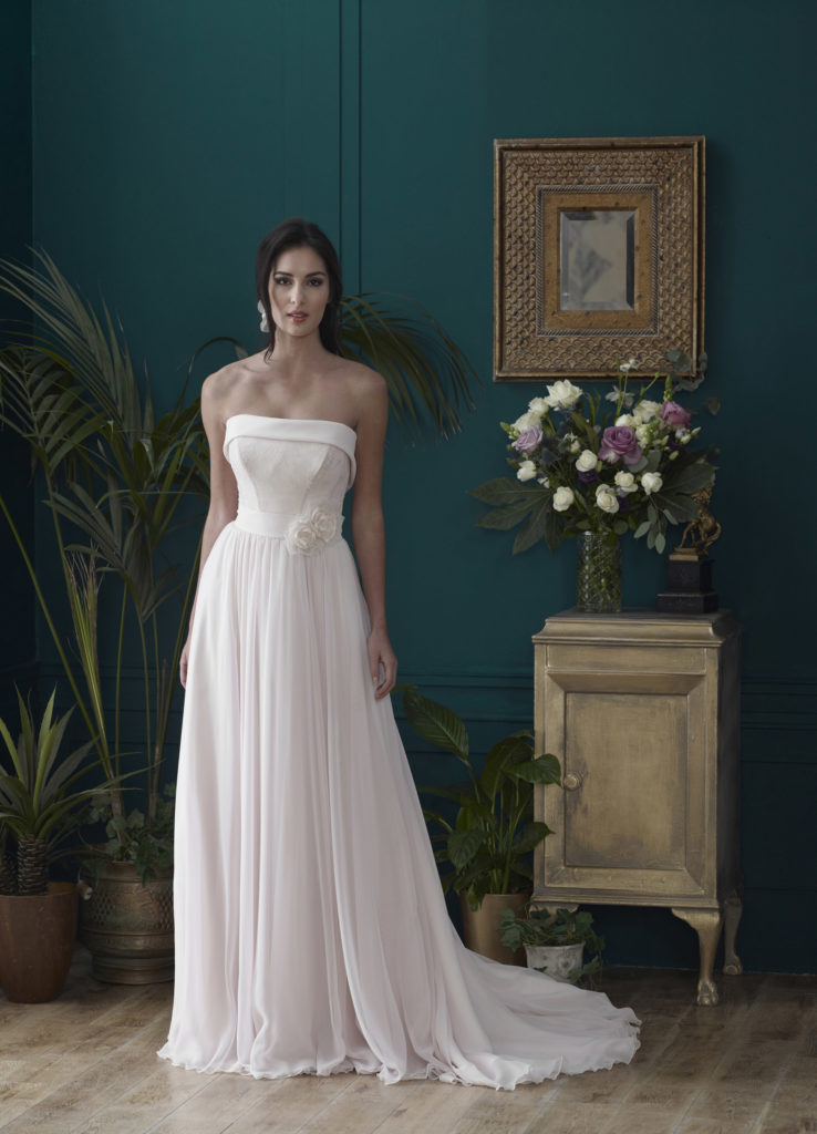 Wedding Dresses Colchester. Burghley by Nicola Anne. Available from Fairytale Bride 17 Market Hill Coggeshall Colchester Essex CO61TS 01376 743121