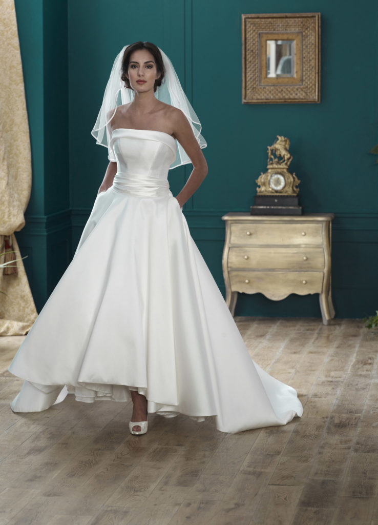 Wedding Dresses Colchester. Hatfield by Nicola Anne. Available from Fairytale Bride 17 Market Hill Coggeshall Colchester Essex CO61TS 01376 743121
