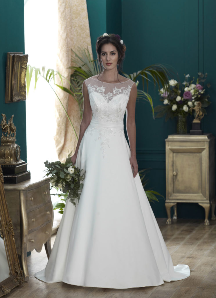 Wedding Dresses Colchester.Osbourne by Nicola Anne. Available from Fairytale Bride 17 Market Hill Coggeshall Colchester Essex CO61TS 01376 743121
