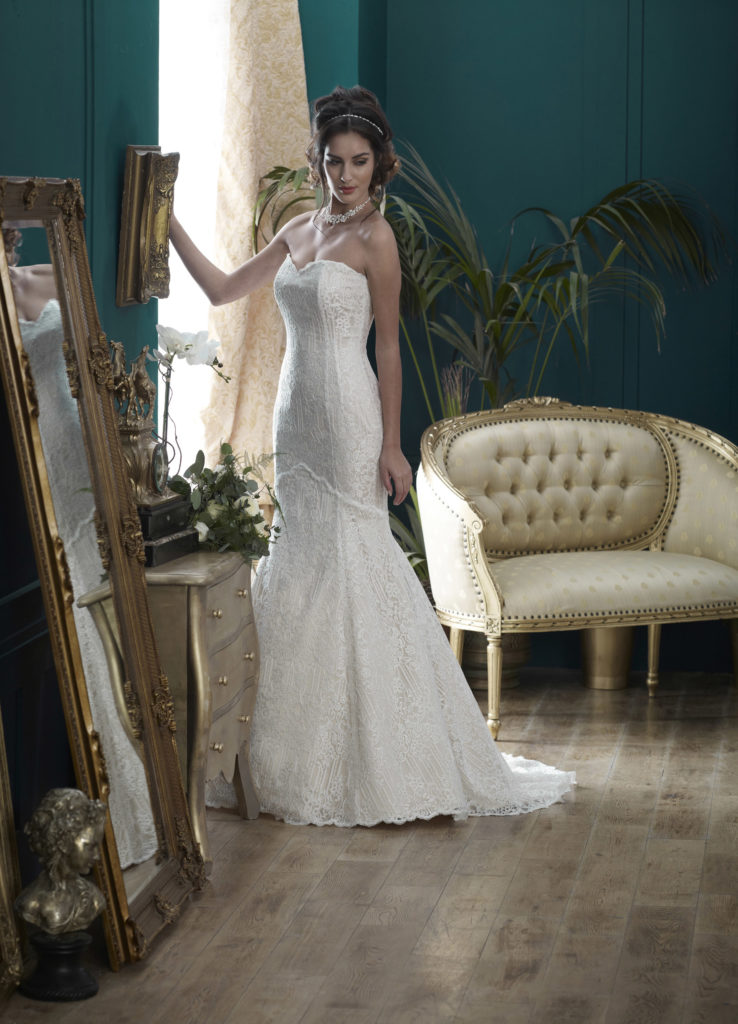 Wedding Dresses Colchester. Sandringham by Nicola Anne. Available from Fairytale Bride 17 Market Hill Coggeshall Colchester Essex CO61TS 01376 743121