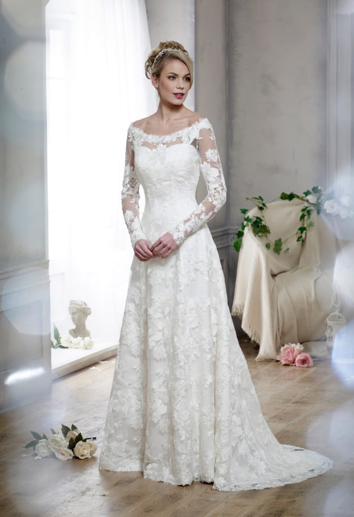 Wedding Dresses Colchester. Spiritual by Nicola Anne. Available from Fairytale Bride 17 Market Hill Coggeshall Colchester Essex CO61TS 01376 743121