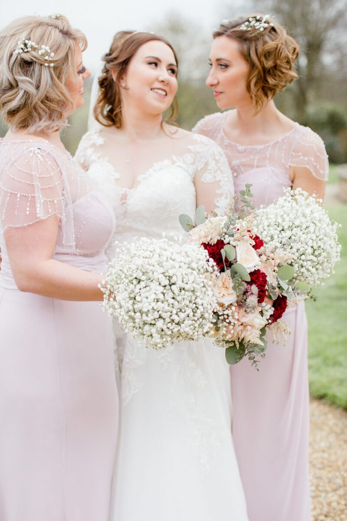 Amy & Gordons Wedding 2019 - Luna Bridesmaids Claire & Vicky10