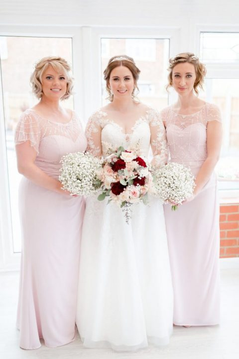 Amy & Gordons Wedding 2019 - Luna Bridesmaids Claire & Vicky2