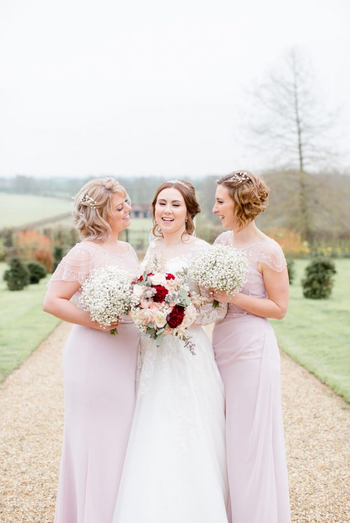 Amy & Gordons Wedding 2019 - Luna Bridesmaids Claire & Vicky6