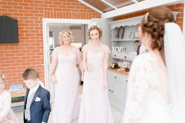 Amy & Gordons Wedding featuring Luna Bridesmaids Kiki & Jemima [Claire & Vicky]