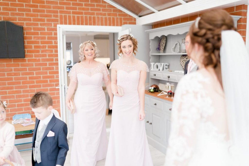Amy & Gordons Wedding featuring Luna Bridesmaids Kiki & Jemima [Claire & Vicky]