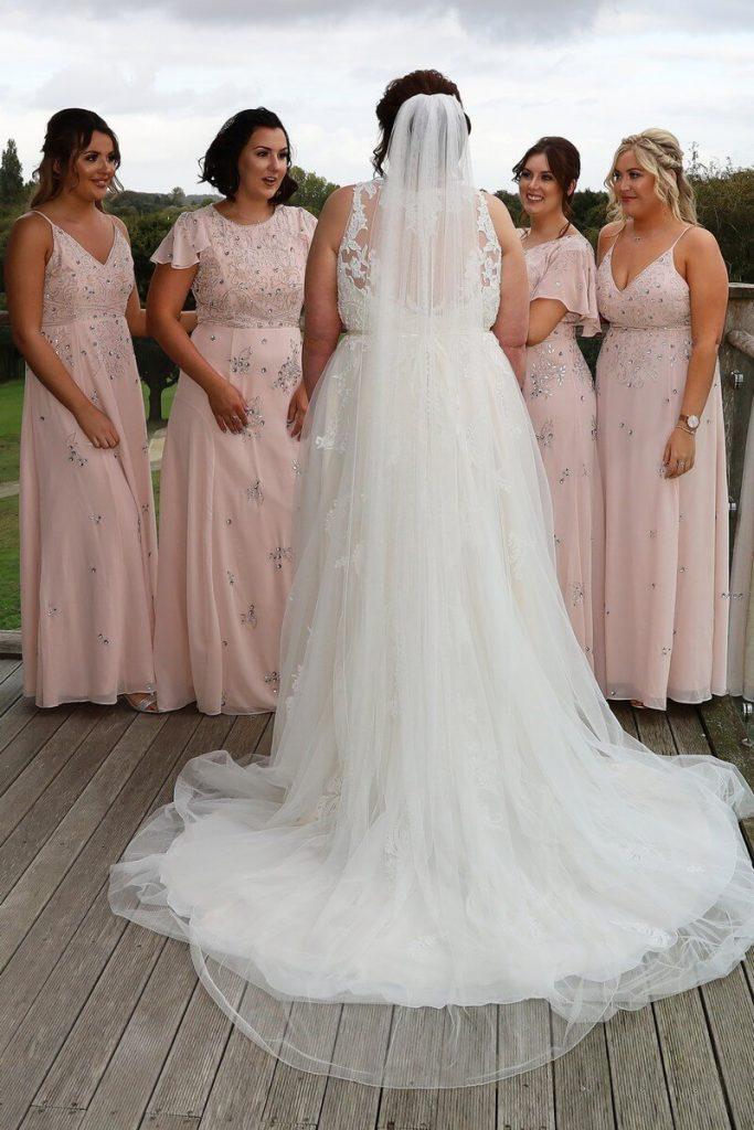 Anna's Wedding featuring San Tropez by Callista Bride from Fairytale Bride 01376 743121 (1)