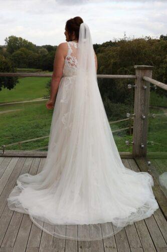Anna's Wedding featuring San Tropez by Callista Bride from Fairytale Bride 01376 743121 (15)