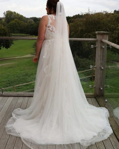 Anna's Wedding featuring San Tropez by Callista Bride from Fairytale Bride 01376 743121 (15)
