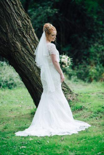 Hannah's wedding featuring W225 by True Bride and Leonie in Mocha by Luna Bridemaids from Fairytale Bride 01376 743121 (10)