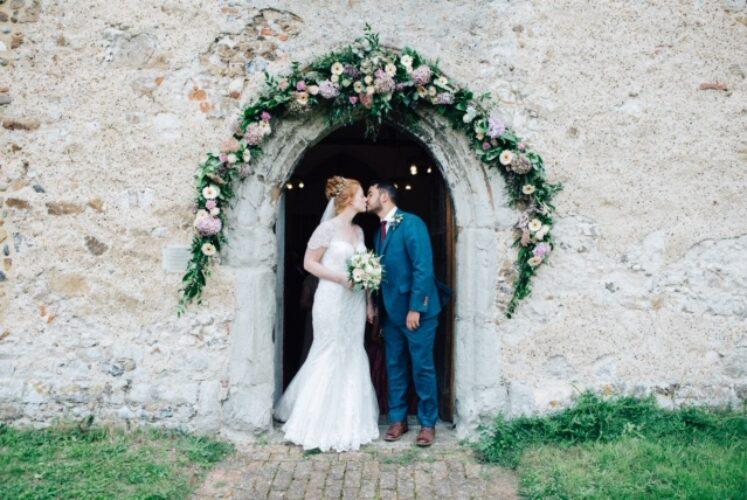 Hannah's wedding featuring W225 by True Bride and Leonie in Mocha by Luna Bridemaids from Fairytale Bride 01376 743121 (3)