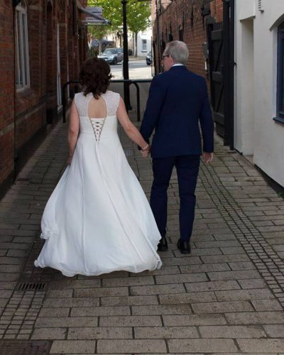 Jeanette's wedding featuring Ruby wedding Dress from Fairytale Bride 01376 743121 (2)